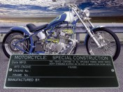 SPECIAL CONSTRUCTION  FREE ENG FRAME