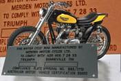 Triumph  Bonneville 750 - Australia