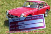 HONDA CAR S800 G