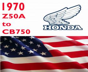 Honda 1970 Plate