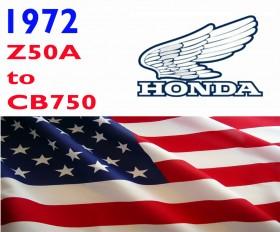 Honda Plate 1972