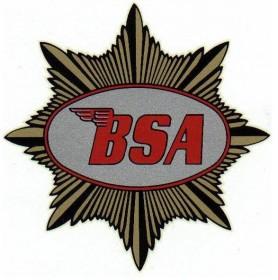 BSA - VIN Plate