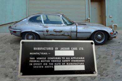 JAGUAR E USA CAR